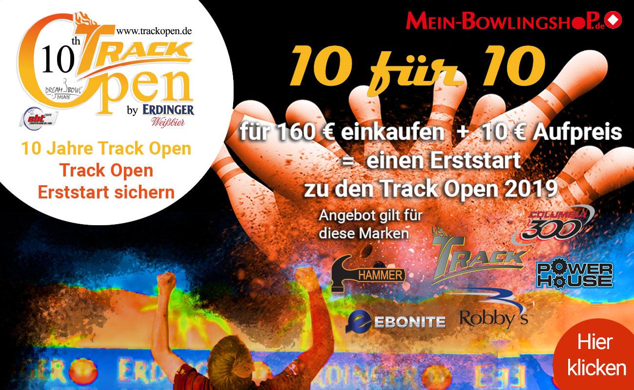 10 für 10 Track Open