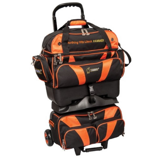 Premium 4 Ball Stackable Schwarz/Orange