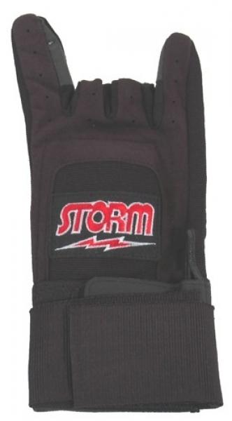 Xtra Grip Plus - Handschuh mit Handgelenkstütze - Schwarz