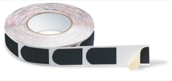 Bowlers Tape Black Smooth 3/4 500/Rolle