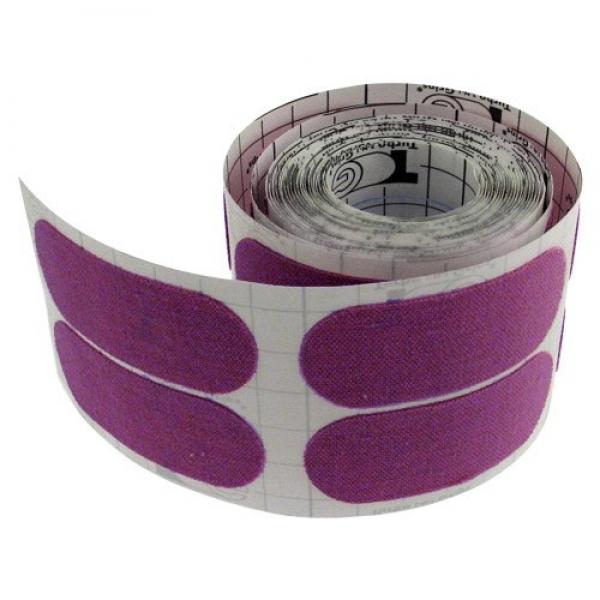 F125 - Fitting Tape - 1 Rolle á 100 Stück - Vorgeschnitten - Lila