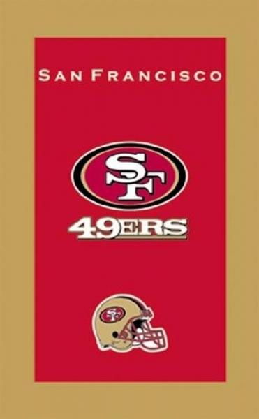 San Francisco 49ers Handtuch