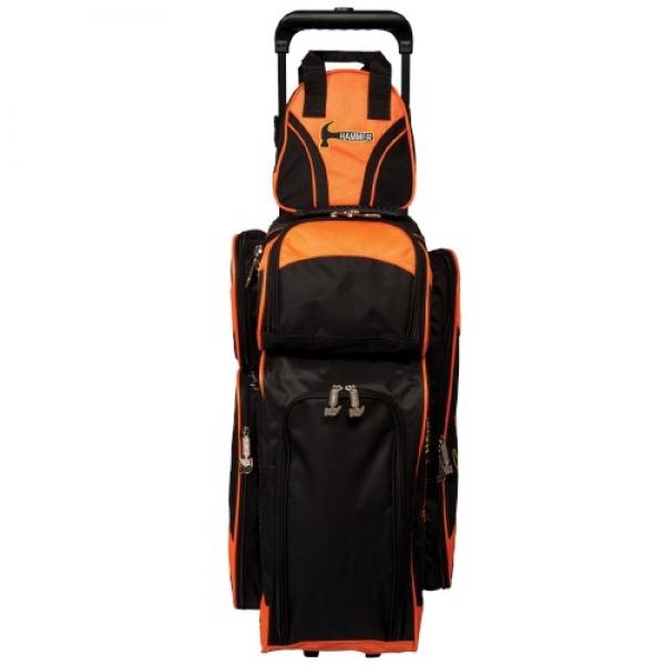 Plus One - Add-A-Bag - Orange/Schwarz