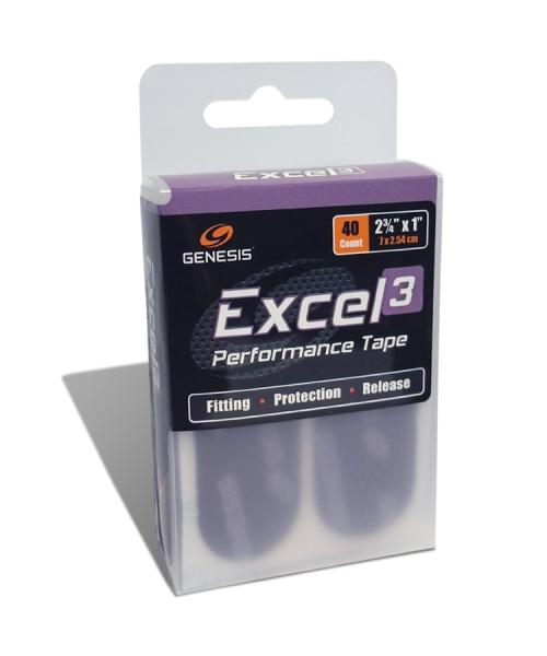 Excel 3 - Klassik Lila - Tape - 40 Stück - Vorgeschnitten