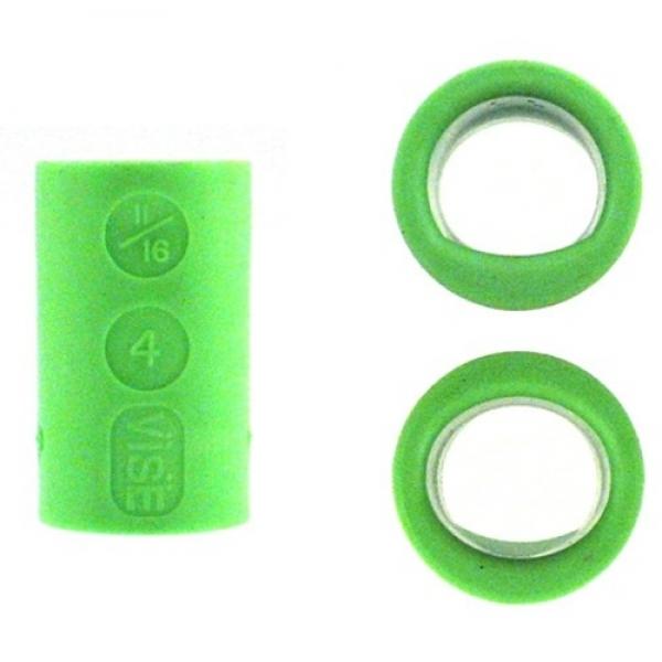 Fingereinsatz Lady Oval & Power Oval Grün