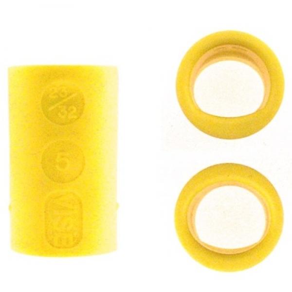 Fingereinsatz Lady Oval & Power Oval Gelb