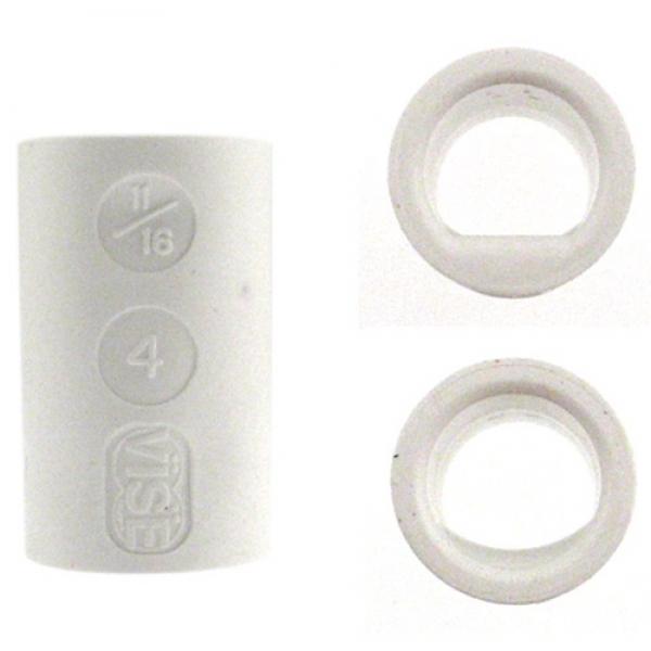Fingereinsatz Ladies Power Lift & Semi Weiß