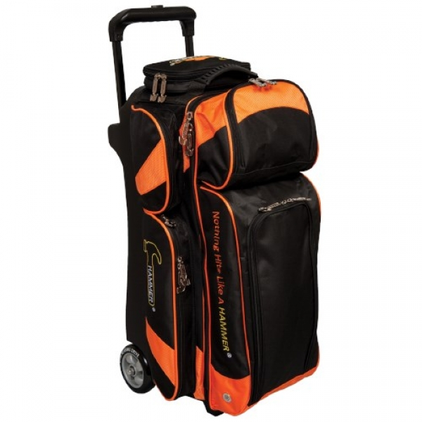 Premium - Triple Roller - Orange/Schwarz