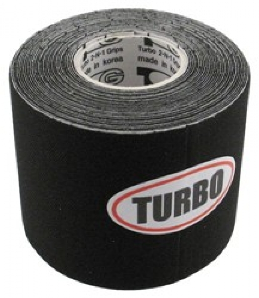 Black Patch Tape Rolle