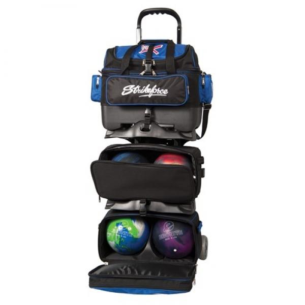 Royal Flush - 6 Ball Roller - Schwarz/Royal
