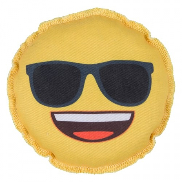 Emoji Smiling Face Sunglasses Grip Sack