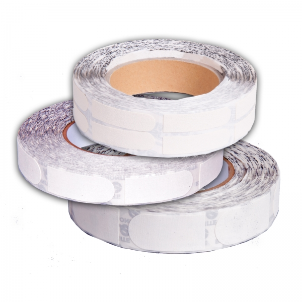 Ultra Grip Tape 1 inch Regular White Roll 100/Piece