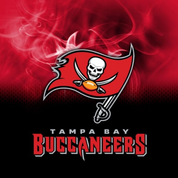 NFL Tampa Bay Buccaneers - Dye Sub - Handtuch - Mikrofaser