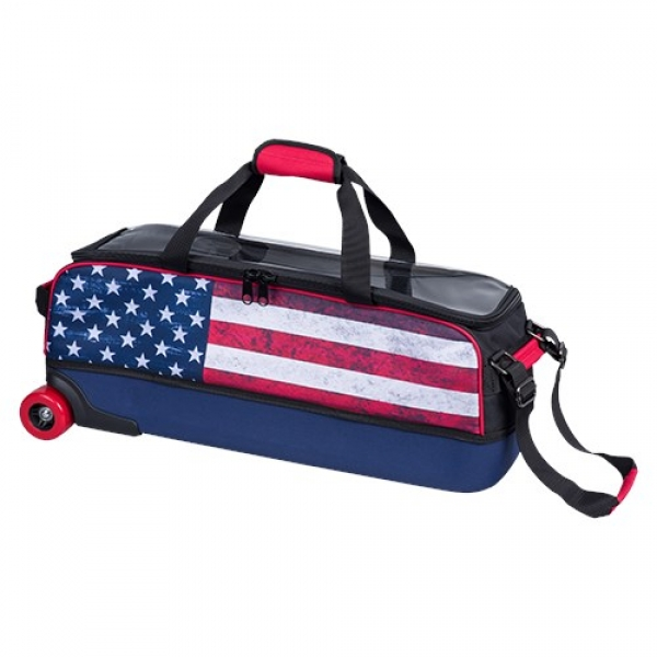Dye Sub Slim - Triple Tote - Amerikanische Flagge