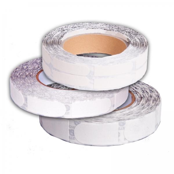 Ultra Grip - Tape - 1/2 Inch - 1 Rolle á 100 Stück - Weiß