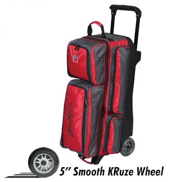 Konvoy - Triple Roller - Rot/Grauch