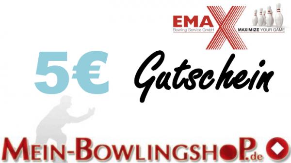 Mein-Bowlingshop.de - Gutschein - 5€