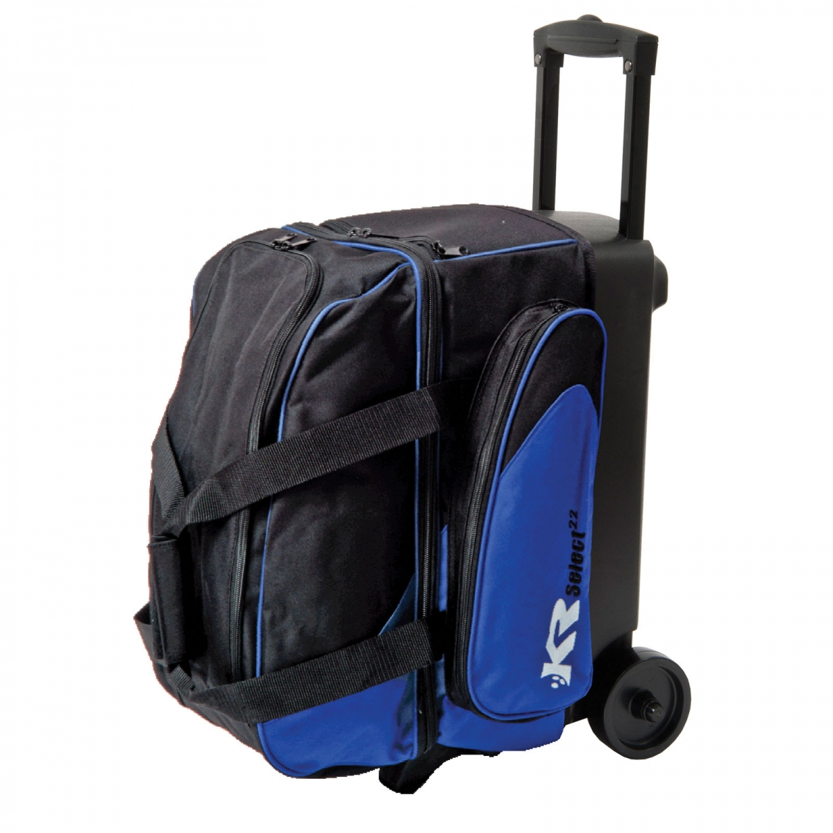 Kr Bowling Bag Select Double 2 Ball Scooter Blue Double