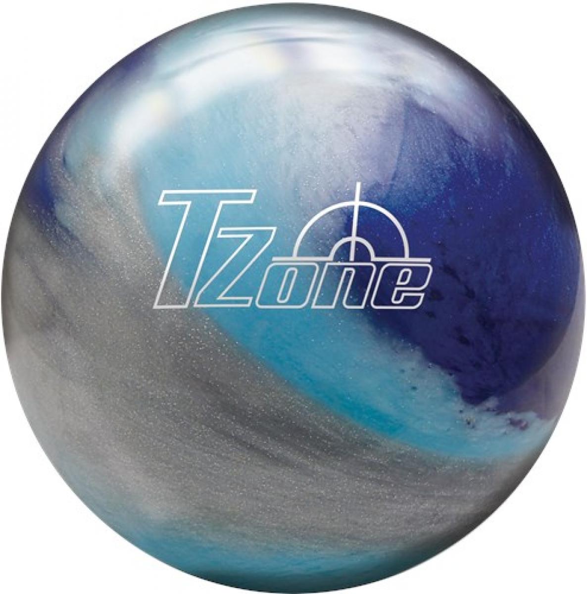Brunswick TZone Arctic Blast Polyester Ball Bowling Ball ...