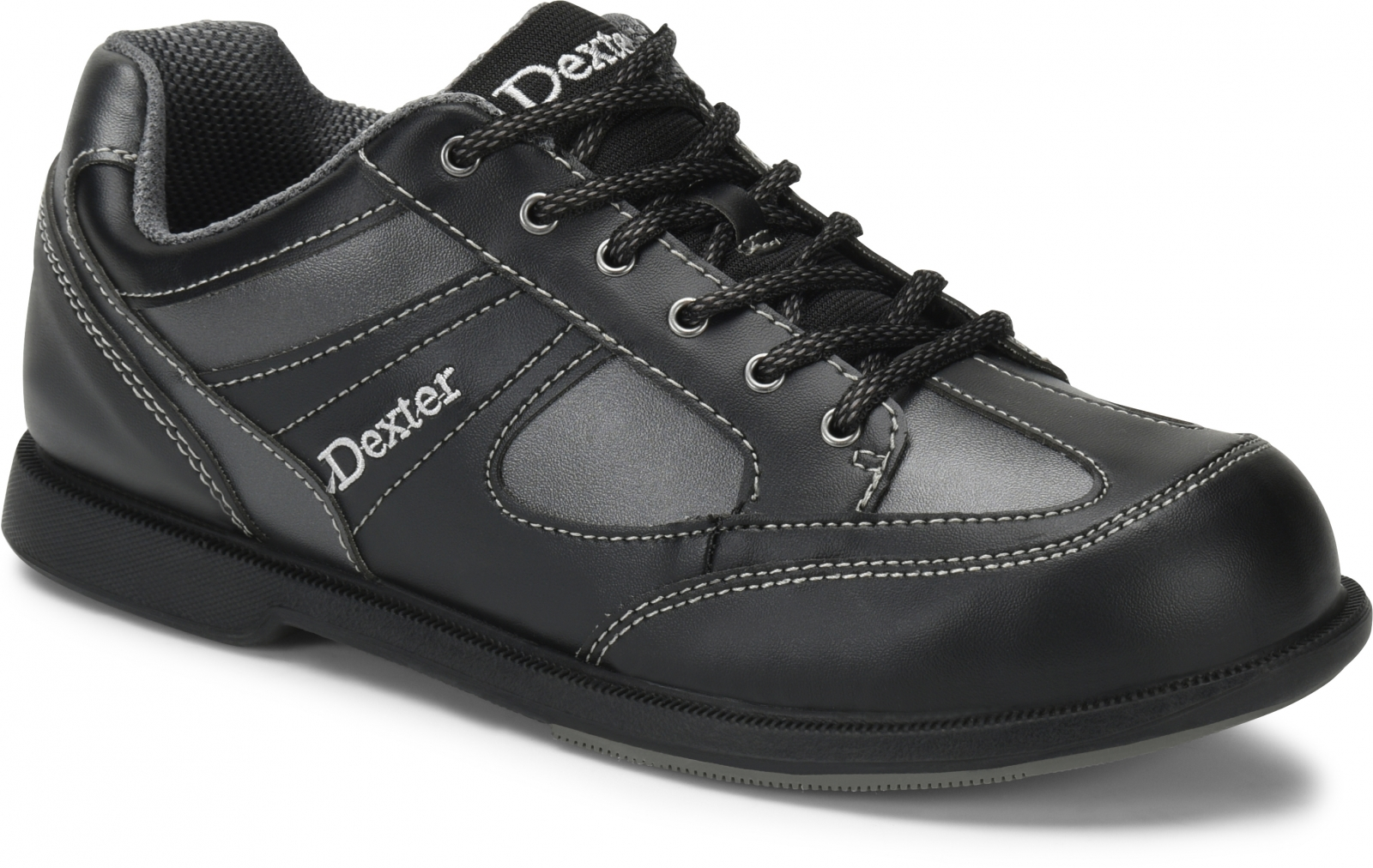 Dexter DexLite Pro Match Play RH - Bowlingschuhe für Herren Schwarz//Grau