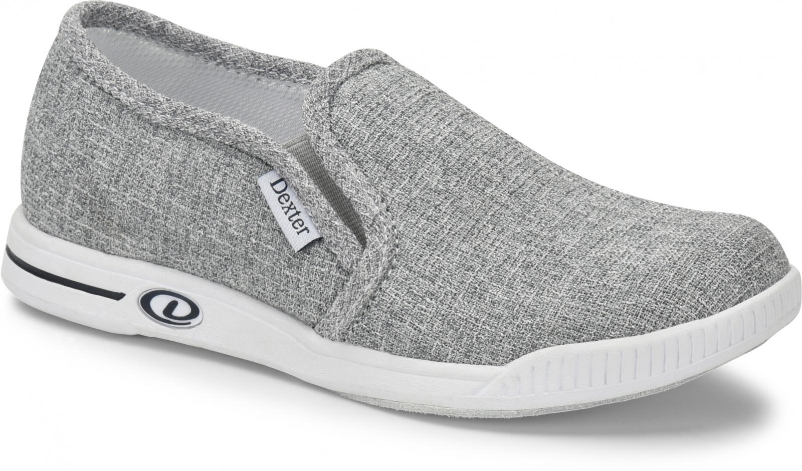 Suzana - Grey / Twill - Bowling Shoes