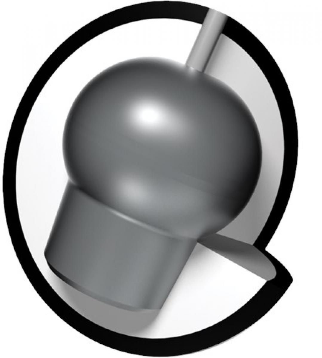Brunswick Vintage Bowling Ball Reaktiv Danger Zone