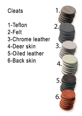 Cleats Oil Leather