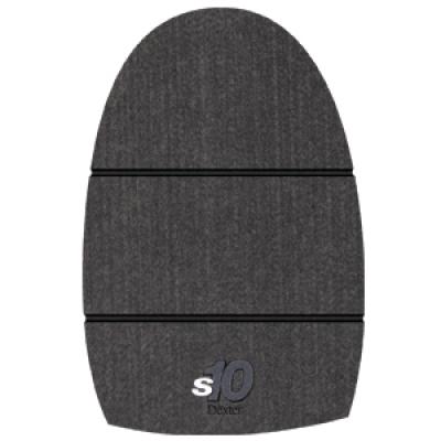 THE 9 Sole #10 Grey Felt Microfiber XS Size 6.5