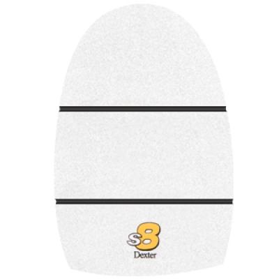 THE 9 Sole #8 White Microfiber XL Size 13-15
