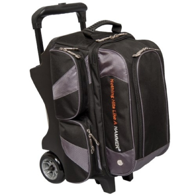 Premium - Double Roller - Schwarz/Karbon