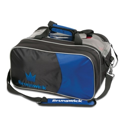 Crown 2 Ball Tasche mit Schuhfach Blau