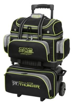 Rolling Thunder - 4 Ball Roller - Schwarz/Grau/Limette