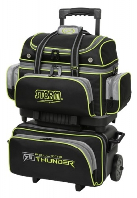 Rolling Thunder 4 Ball Schwarz/Grau/Limette