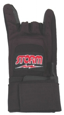Xtra Grip Plus Handschuh mit Stütze Schwarz