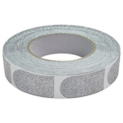 Bowlers - Tape - 1 Inch - 1 Rolle á 500 Stück - Silber