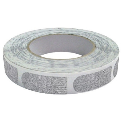 Bowlers - Tape - 3/4 Inch - 1 Rolle á 500 Stück - Silber