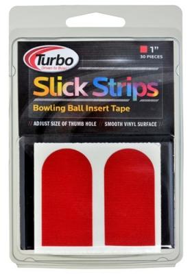 Tape Red Slick Strips 1-inch 30 Stück