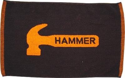 Loomed Handtuch mit Hammer Logo