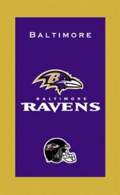 Baltimore Ravens NFL Handtuch