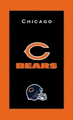 Chicago Bears Towel Handtuch