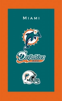 Miami Dolphins NFL Handtuch