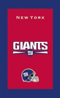 New York Giants NFL Handtuch