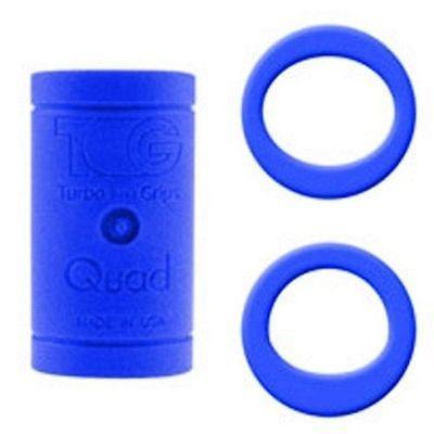 Fingereinsatz Quad Blau