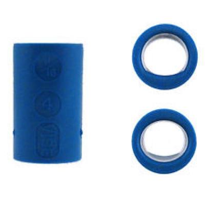 Fingereinsatz Oval & Power Oval Blau