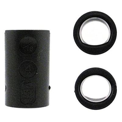Fingereinsatz Oval & Power Oval Schwarz