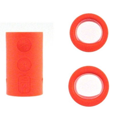 Fingereinsatz Oval & Power Oval Orange