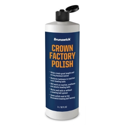 Crown Factory Finish Polish 32oz Politur