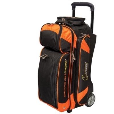 Premium 3 Ball Roller Schwarz/Orange