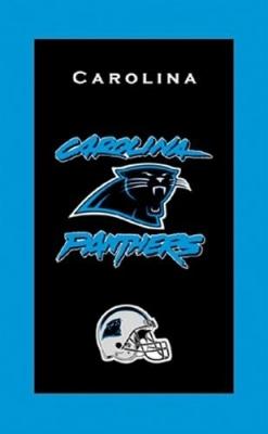 Carolina Panthers Towel Handtuch