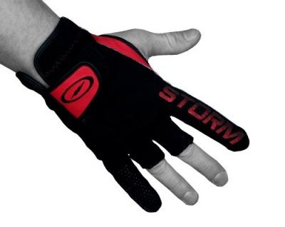 Power Glove - Handschuh - Schwarz/Rot